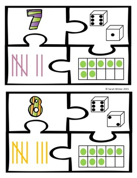 Addition/Subtraction, Number Sense Puzzles