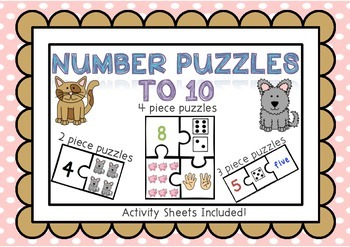 Number Puzzles to 10