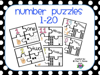 Number Puzzles with Spelling