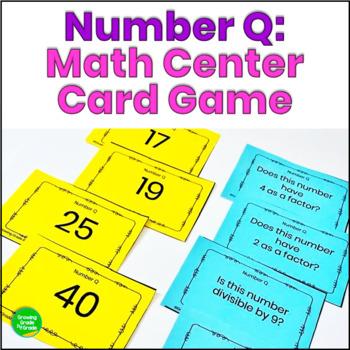 Math Card Game Number Q