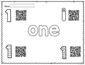 Number QR Codes