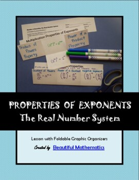 Number & Quantity: The Real Number System Exponents