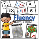 Number, Quantity Total and Difference Fluency Cards #chris