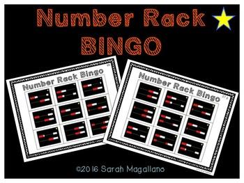 Number Rack Bingo (Rekenrek)