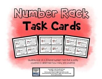 Number Rack (Rekenrek) Task Cards