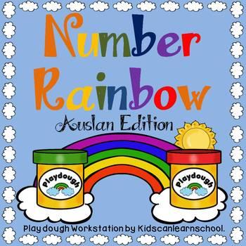 Number Rainbow- AUSLAN Edition