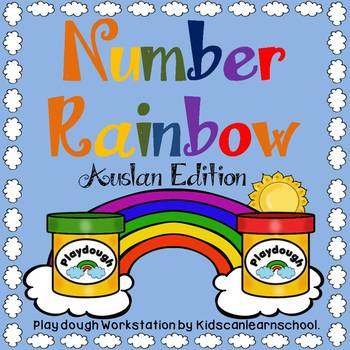 Number Rainbow- Auslan Edition