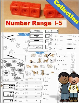 Number Range 1 - 5: From Number Bonds to Subtractions --- Collection