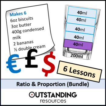 Number: Ratio and Proportion Bundle - 6 lessons + resources