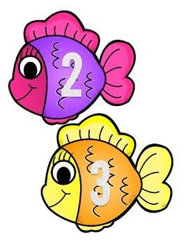 Number Recognitin Fishing Game 0-20