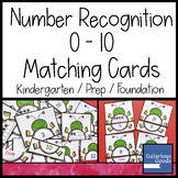 Number Recognition 0 - 10 - Beetle Matching Cards