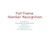 Number Recognition 0-10 Fall Theme
