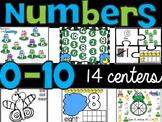 Number Sense 0-10 : Fourteen Math Centers