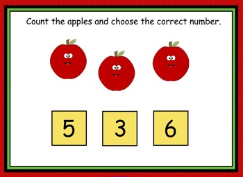 Number Recognition 1-10 (SMARTboard lesson) FREEBIE
