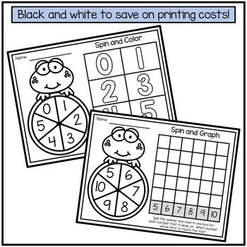 Number Recognition 1-10 Activities