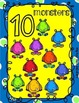 Number Recognition 1-10 monsters
