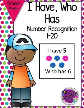 Number Recognition 1-20