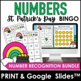 Number Recognition 1-20   Bingo Game   Print & Digital - S