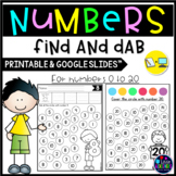Number Recognition 1-20 - number sense worksheets