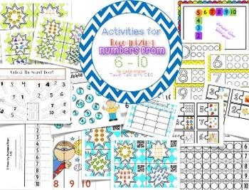 Number Recognition 1-25 {Kindergarten Common Core Aligned}