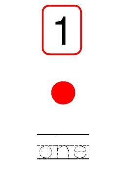 Number Recognition 1-5