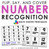 Number Recognition 1 to 20 - Flip, Say and Cover