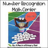 Number Recognition 1 to 20 Math Center (Hungry, Hungry Chalkboard)