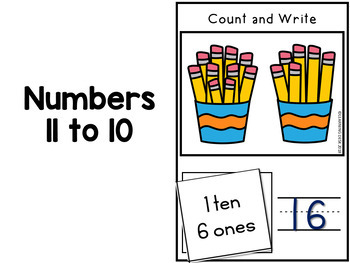 Number Recognition 1 to 20: Number Sense Activities 1 to 20
