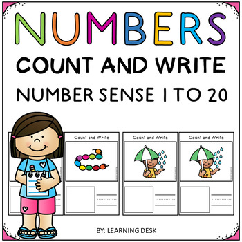 Number Recognition 1 to 20