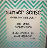 Number Recognition 51-100~Math Morning Work