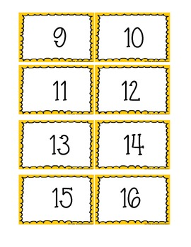 Number Recognition Activities