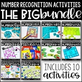 Number Recognition Activities: THE BIG BUNDLE