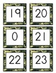 Number Recognition Activity: 0-50 Number Cards: Army Camouflage Themed
