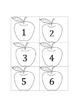 Number Recognition Apple Pie Math Game
