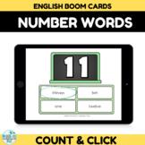 Number Recognition Assessment 10-20 Boom Cards