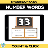 Number Recognition Assessment 30-40 Boom Cards