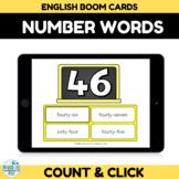 Number Recognition Assessment 40-50 Boom Cards