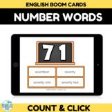 Number Recognition Assessment 70-80 Boom Cards
