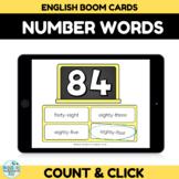 Number Recognition Assessment 80-90 Boom Cards