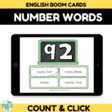 Number Recognition Assessment 90-100 Boom Cards