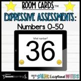 Number Recognition Assessment Boom Cards™ Bundle