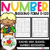 Number Recognition Assessment 0-120