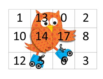 Number Recognition BINGO/LOTTO