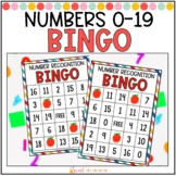 Number Recognition Bingo 0-20