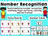 Number Recognition Boards