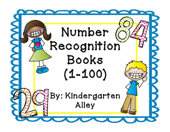 Number Recognition Book (1-100)