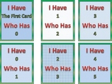 Number Recognition Card Game