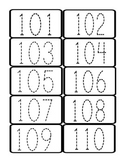 Number Recognition Cards Part 2