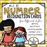 Number Recognition Cards/Posters