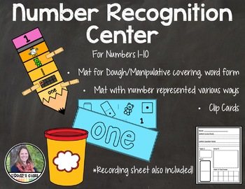 Number Recognition Center, Numbers 1-10